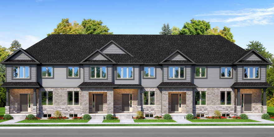Focus Townhomes outside