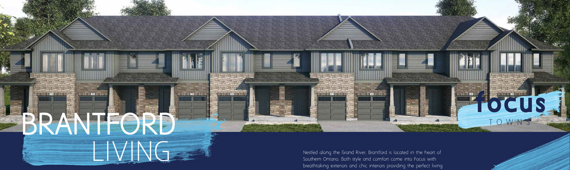 Focus Towns - Townhomes in Brantford